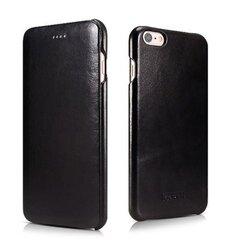 Чёрный чехол для Apple iPhone 6/6s Plus цена и информация | Кошельки и сумочки для мобильных телефонов | 220.lv
