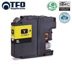 TFO Brother LC125XL (LC-125XLY) Yellow INK Cartridge 15ml for DCP-J4110DW и др. HQ Премиум Аналог