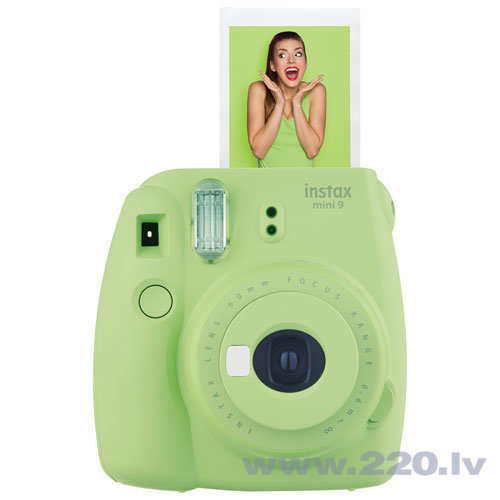 Fujifilm Instax Mini 9 Lime Green internetā
