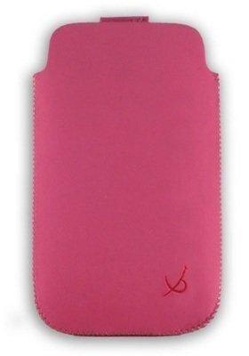 Zamšādas L-DV0021 universāls maciņš Dolce Vita rozā