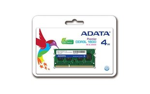 A-Data 4GB 1600MHz DDR3 CL11 SO-DIMM ADDS1600W4G11-S