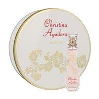 Komplekts Christina Aguilera Christina Aguilera: edp 30 ml + metāla kaste