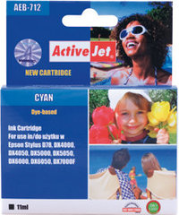 Tintes Kārtridžs ActiveJet AEB-712 (Epson T0712), Zils
