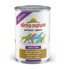 Mīksta barība suņiem ALMO NATURE ar pīli, 400g