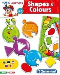"""Izglītojoša spēle bērniem """"Formas un krāsas"""" LT, LV, EE un RU"""
