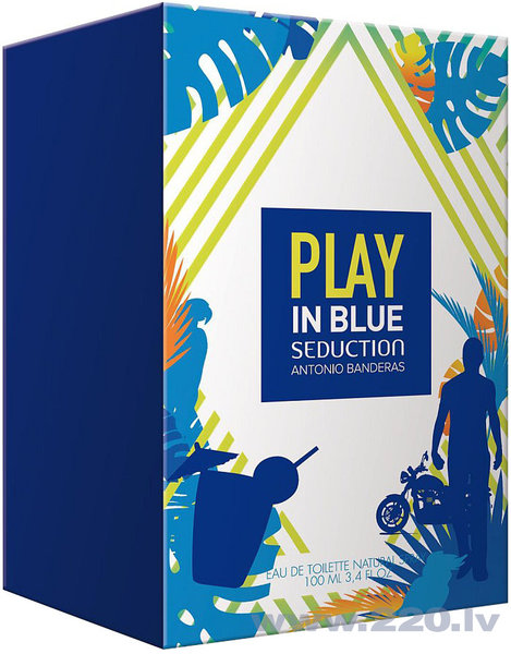 Tualetes ūdens Antonio Banderas Play In Blue Seduction EDT 100 ml cena