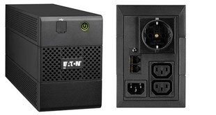 Eaton 5E 850i USB DIN цена и информация | Источник бесперебойного питания UPS | 220.lv