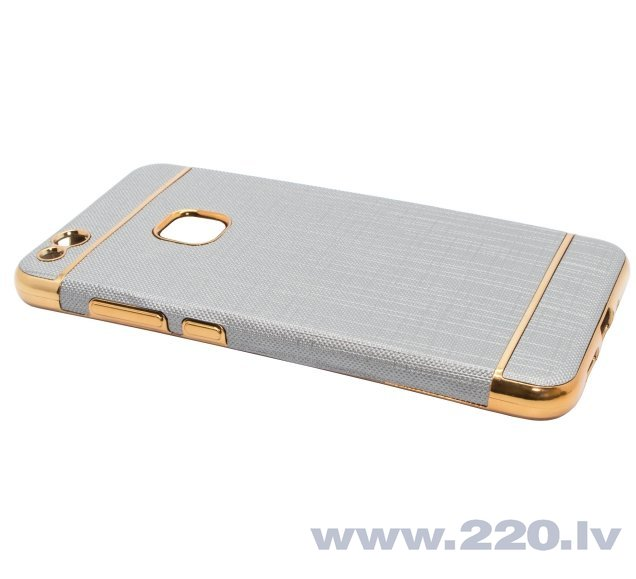 Mocco Exclusive Crown silikona apvalks priekš Apple iPhone 6 / 6S Pelēks cena