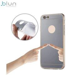 Чехол - крышка Blun Mirror для Samsung J730F Galaxy J7 (2017), Серебристый