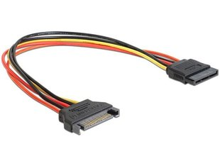 Kabelis POWER EXTENSION SATA/0.5M CC-SATAMF-02 GEMBIRD