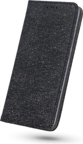 Forever Glitter shine Smart Magnetic Fix чехол-книжка для Samsung G950 Galaxy S8, чёрный