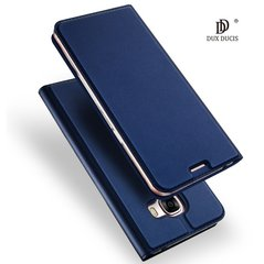 Sāniski atverams maciņš Dux Ducis Premium Magnet Case priekš Apple iPhone 6 / 6S, zils