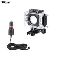 SJCam Original SJ5000 SJ5000 Wi-Fi SJ5000x Elite Waterproof Housing with built-in Charger 12-38V for Motor Bike