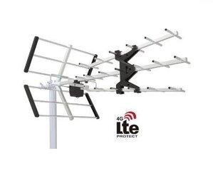 Flexbox DTA-200 TRIPLEX antena + LTE filtrs cena un informācija | Televizori un piederumi | 220.lv