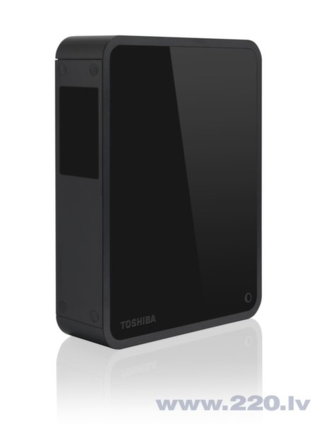 Toshiba CANVIO for DESKTOP 3TB, Melns