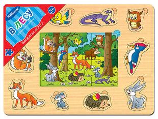 """Koka Puzle Step Puzzle """"Mežā"""""""