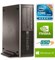 HP 6300 PRO SFF i5-3470 8GB 240SSD+500GB GT1030 2GB DVDRW WIN10Pro