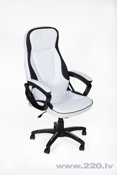 Офисное кресло Merila, черое/белое
