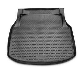 Gumijas bagāžnieka paklājs MERCEDES-BENZ С-Class W204 2007-2011 sedan black /N25018 цена и информация | Коврики для багажника по авто моделям | 220.lv