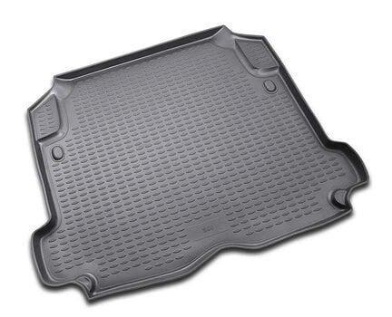 Gumijas bagāžnieka paklājiņš VOLVO S60 2001-2009 black /N40002 cena un informācija | Bagāžnieka paklājiņi pēc auto modeļiem | 220.lv