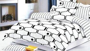 Двухсторонний комплект постельного белья, 4 части