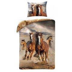 Gultas veļas komplekts Zirgi, 2 daļas