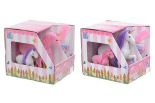 2 лошадиные фигурки c аксессуарами, 1 шт. цена и информация | Игрушки для девочек | 220.lv