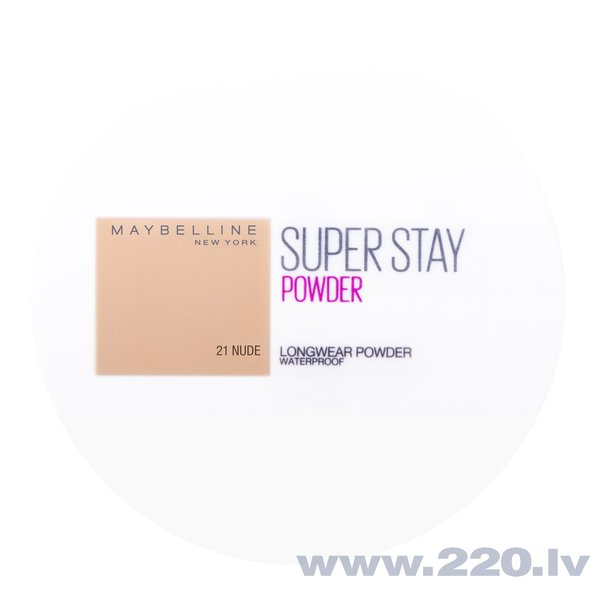 Kompaktais pūderis Maybelline New York Super Stay 24H, 9 g