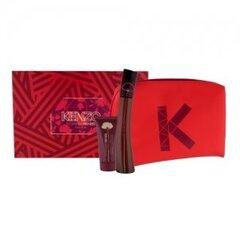 Комплект Kenzo Flower by Kenzo L'Elixir: edp 50 мл + лосьон для тела 50 мл + косметичка