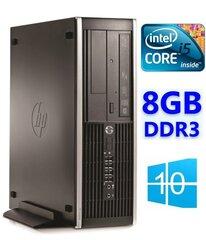 HP Eite 8300 SFF i5-3570 8GB 1TB DVDRW WIN10Pro