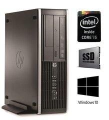 HP Eite 8300 SFF i5-3570 8GB 120SSD DVDRW WIN10Pro