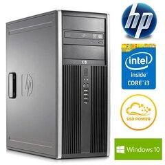 HP 8200 Elite TW i3-2100 8GB 240SSD DVD WIN10Pro