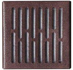 Ventilācijas režģis Awenta, 14*14,bronzas krāsa cena un informācija | Ventilatori vannas istabai | 220.lv