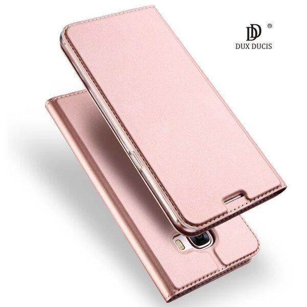 Dux Ducis Premium maciņš priekš Huawei P10 Zeltrozā