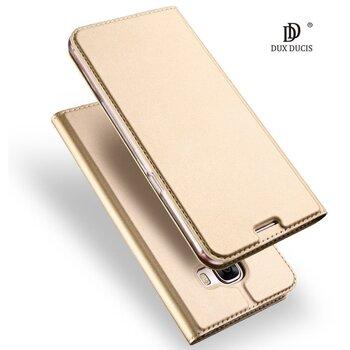 Dux Ducis Premium maciņš priekš Apple iPhone X Zeltains cena un informācija | Maciņi, somiņas | 220.lv