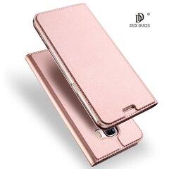 Dux Ducis Premium maciņš priekš Apple iPhone X Zeltrozā