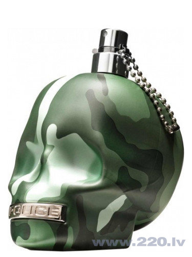 Tualetes ūdens Police To Be Camouflage edt 75 ml