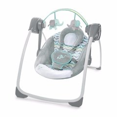 Bright Starts šūpuļkrēsls Comfort 2 Go Portable Swing™ - Jungle Journey™
