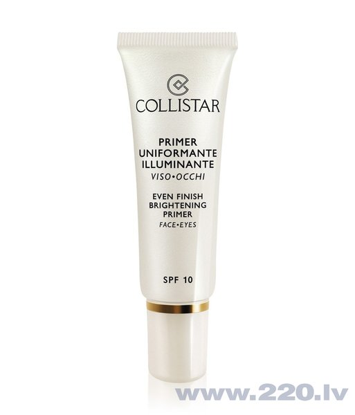 Bāze Collistar Even Finish Brightening SPF10 30 ml