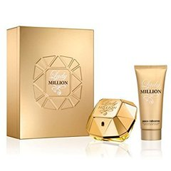 Komplekts Paco Rabanne Lady Million: edp 50 ml + ķermeņa losjons 75 ml