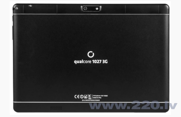 Overmax Qualcore 1027 10.1'' 3GB Black internetā