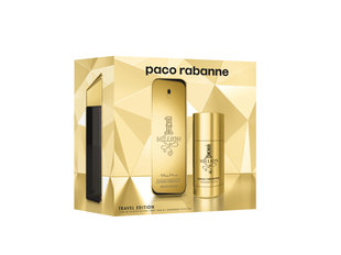 Komplekts Paco Rabanne 1 Million: edt 50 ml + dezodorants 75 ml