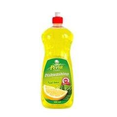 PERLA CLEAN līdzeklis trauku mazgājamai mašīnai Fresh Lemon, 0,5 l