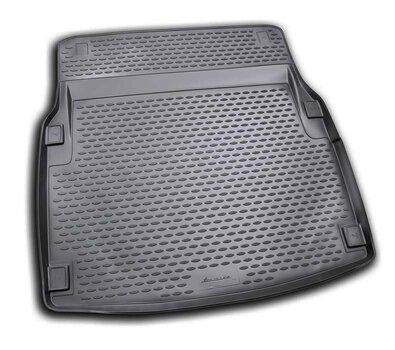 Gumijas bagāžnieka paklājs MERCEDES-BENZ E-Class sedan W212 2009-> (Elegance) black /N25006 цена и информация   Коврики для багажника по авто моделям   220.lv