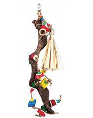 Rotaļlieta papagaiļiem no dabīgā koka Trixie
