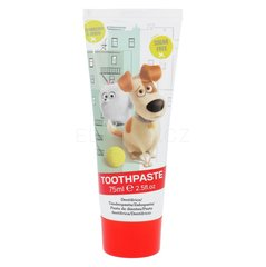 Bērnu zobu pasta Universal The Secret Life Of Pets Toothpaste Strawberry 75 ml