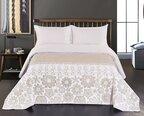 Divpusējs gultas pārklājs Alhambra White Beige, 170x210 cm