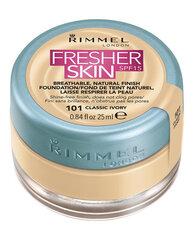Krēmpūderis Rimmel London Fresher Skin SPF15 25 ml