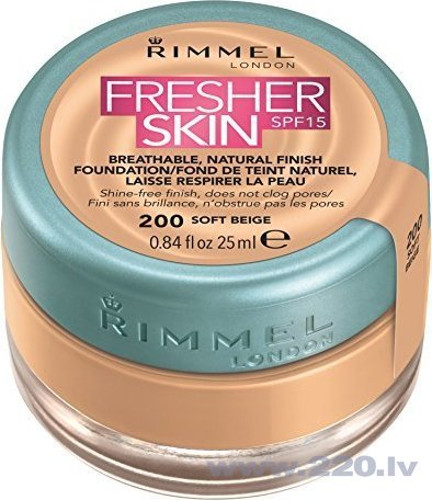 Krēmpūderis Rimmel London Fresher Skin SPF15 25 ml
