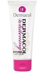 Sejas skrubis ādas balināšanai Dermacol Whitening Gommage Wash Gel 100 ml